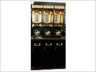 漆塗調木製納骨壇
